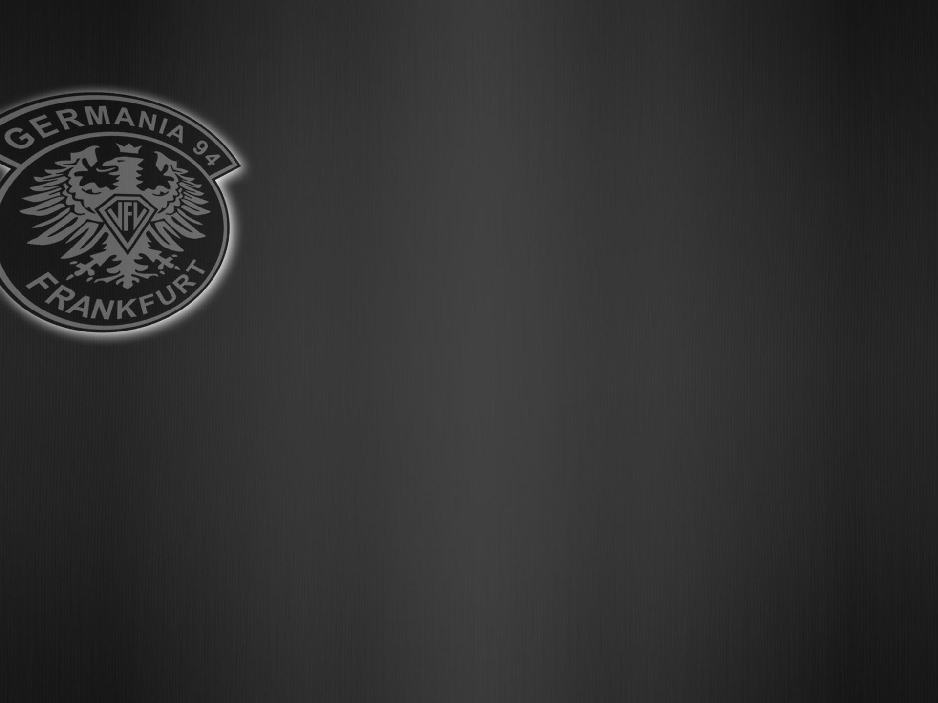 vfl germania hintergrund mit logo silber schwarz